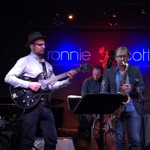 Jasper Blom live at Ronnie Scotts 1