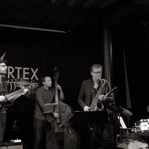 Jasper Blom live in London Vortex kopie